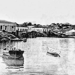 Aterros dos Igarapé que deram origem a Avenida Eduardo Ribeiro