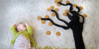 Veja o que esta mãe faz quando sua filha dorme!