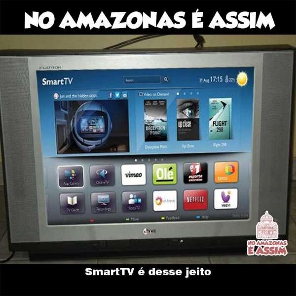 SmartTV é desse jeito