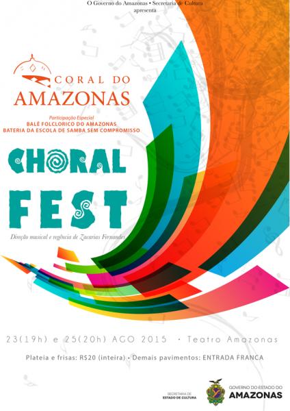Espetáculo 'Choral Fest' volta ao palco do Teatro Amazonas
