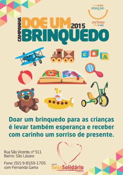 Campanha de Arrecadação de Brinquedo – 2015