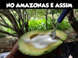 Quem já comeu Abacate com Açúcar vai compartilhar
