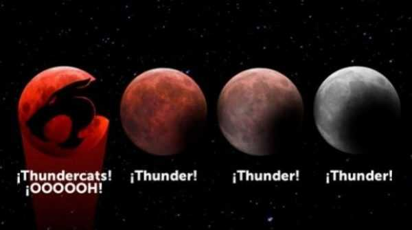 Os Melhores Memes do Eclipse da Super Lua Sangrenta