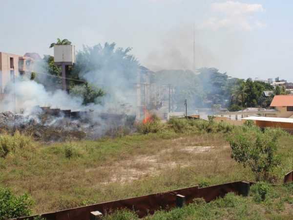 Tempo seco e forte calor contribuem para o aumento de incêndios em Manaus - Imagem de Divulgação
