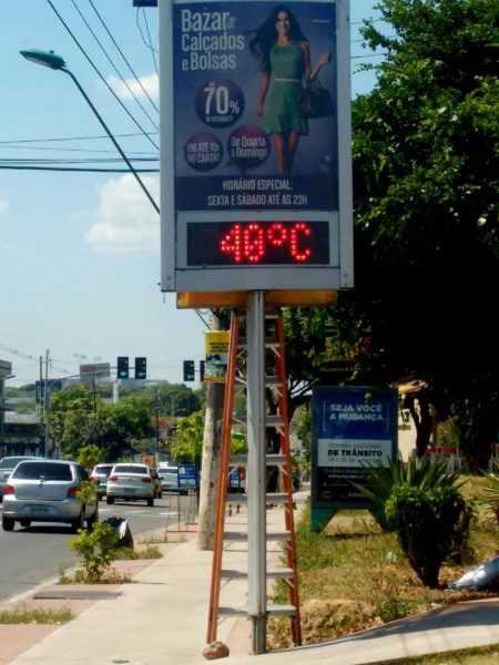 Manaus registra temperatura recordedos últimos 90 anos