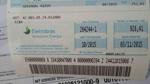 Amazonenses pagarão ainda mais caro pela energia