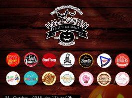 Food Trucks, Food Bikes e restaurantes realizam festa de Halloween