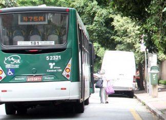 Ônibus em circulação na capital paulista: liberação de transporte depende de sanção de Haddad Fernando Neves/Futura Press