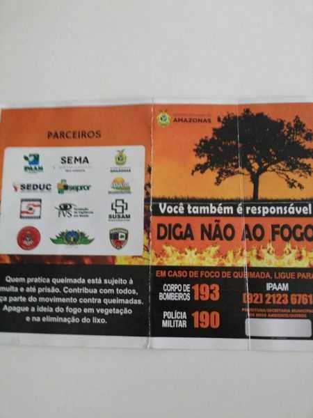 Queimadas fora de controle no Amazonas