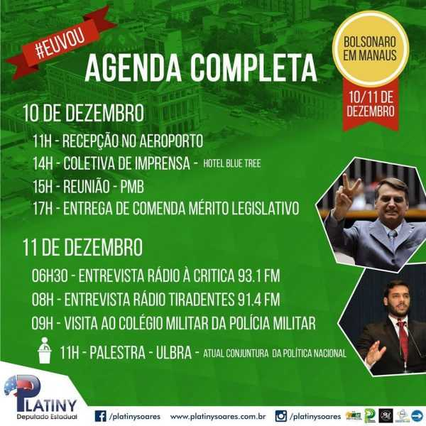 Agenda Jair Bolsonaro