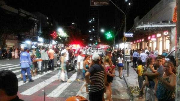 Pânico no Centro de Manaus