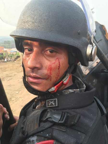 Cidade das Luzes reintegracao tem confrontos entre PM e ocupantes (1)