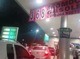 Promoção de Gasolina R$ 3,68 em Manaus