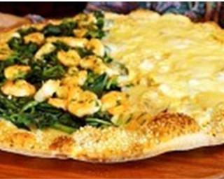 """Receita de Pizza metade tacacá e metade """"caboca pávula"""""""