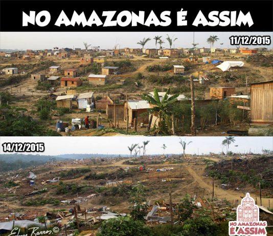 Cidade Das Luzes - Antes e depois. registro : Edmar Barros