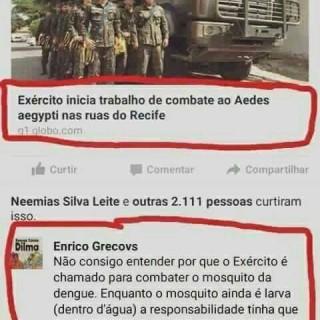 Por que o Exército tem que combater o Aedes Aegypti
