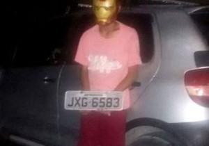 Adolescente é apreendido suspeito de assaltar usando máscara do Homem de Ferro
