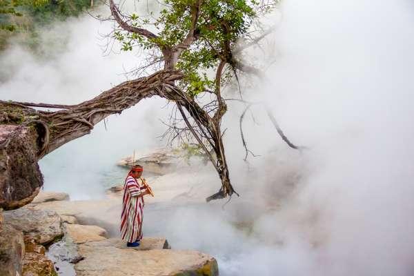 Rio lendário é encontrado na Amazônia