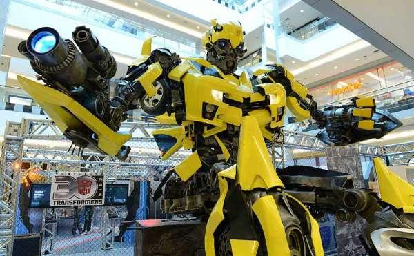 """Manaus recebe a Exposição internacional """"Transformers"""""""