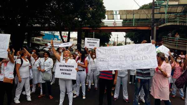 O protesto chegou a bloquear a avenida Carvalho Leal. Imagem de Divulgação
