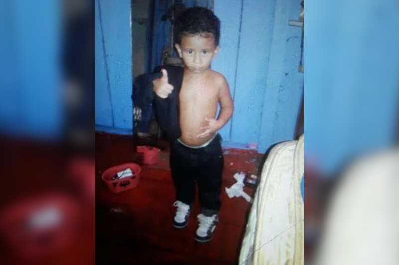 Jhonatta Alexandre dos Santos tinha 3 anos  / foto: Arquivo Pessoal