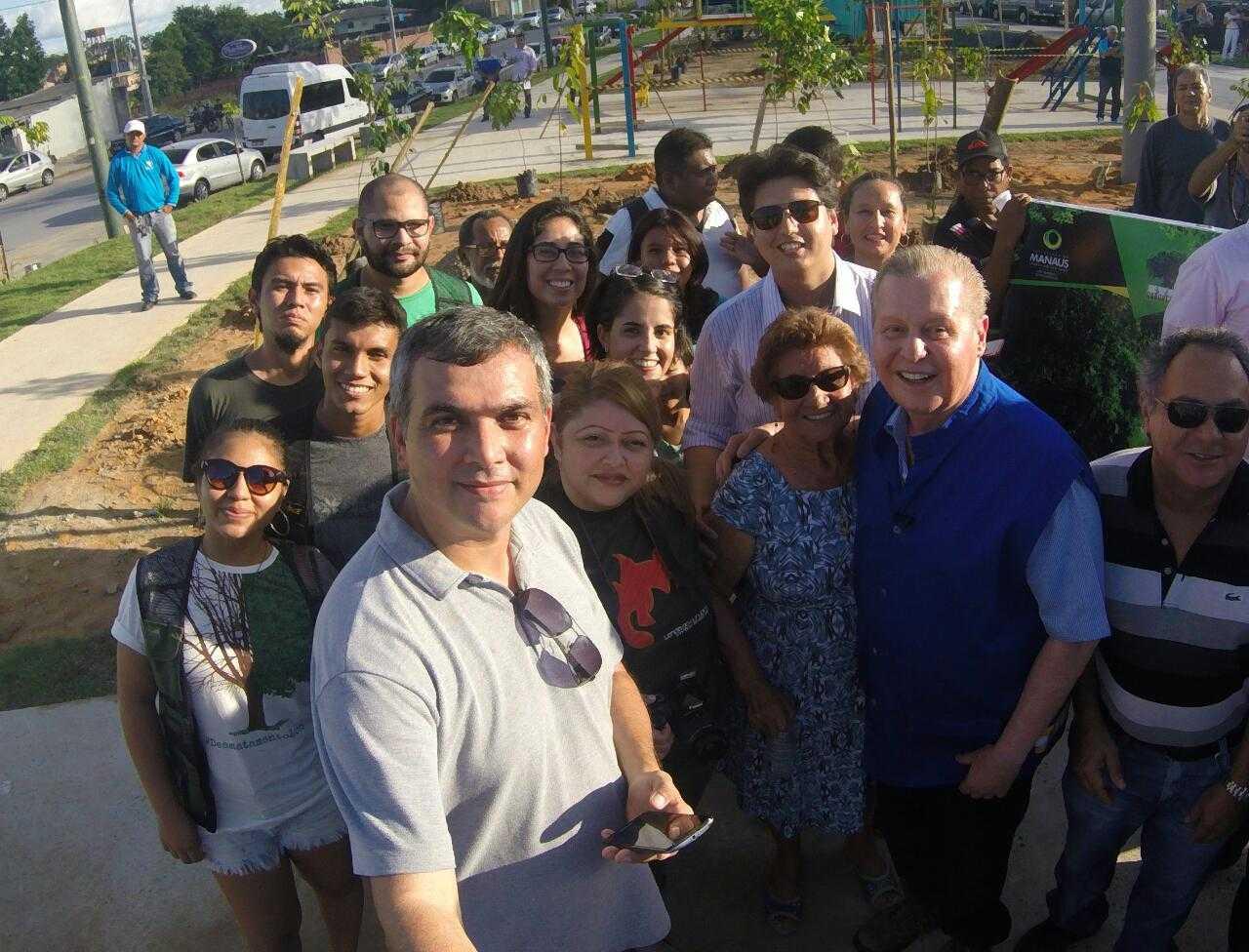Equipe Voluntários Verdes do No Amazonas é Assim