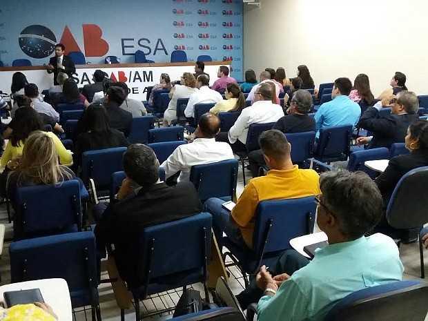 Curso da OAB será realizado em Manaus (Foto: Divulgação)