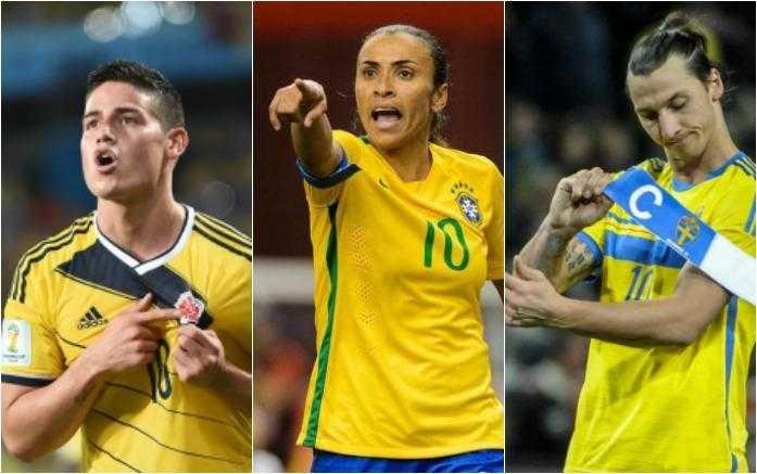 Astros do futebol mundial poderão participar das partidas dos Jogos Olímpicos que serão realizadas na Arena da Amazônia