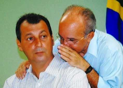 Governador José Melo e o senador Omar Aziz