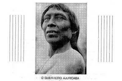 O guerreiro Ajuricaba do povo indígena manaós