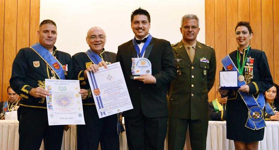 Marcus Pessoa laureado em 2015