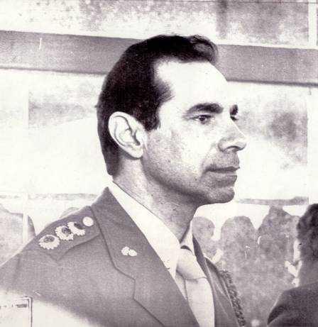 O então major Ustra. O então major Ustra. Foto Elio Gaspari 17.08.1985