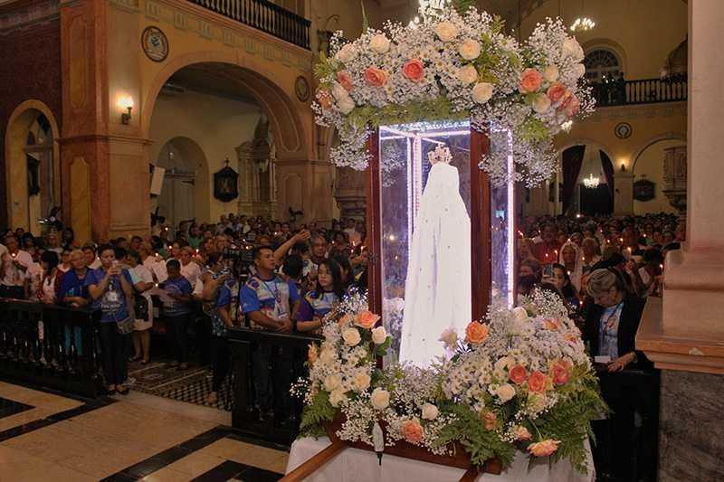 Imagem peregrina de Nossa Senhora de Fátima chega a Manaus para as comemorações do centenário das aparições / Foto : Fernanda Barros Pascom-NSC