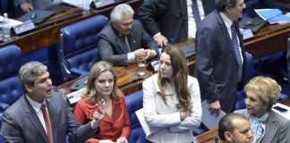 Brasília -Sessão plenária para decidir sobre a admissibilidade do processo de impeachment da presidenta Dilma Rousseff (Antonio Cruz/Agência Brasil)