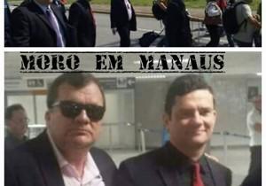 Sergio Moro desembarca em Manaus. Será ?