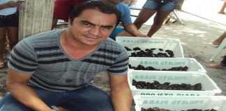 """""""Keimado"""", Klinger da Silva, foi preso preventivamente em 7/05 de 2014 suspeito de ser um dos chefes do tráfico em Barcelos, no Alto Rio Negro."""