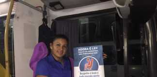Campanha chama a atenção para respeito a pessoa idosa no transporte coletivo