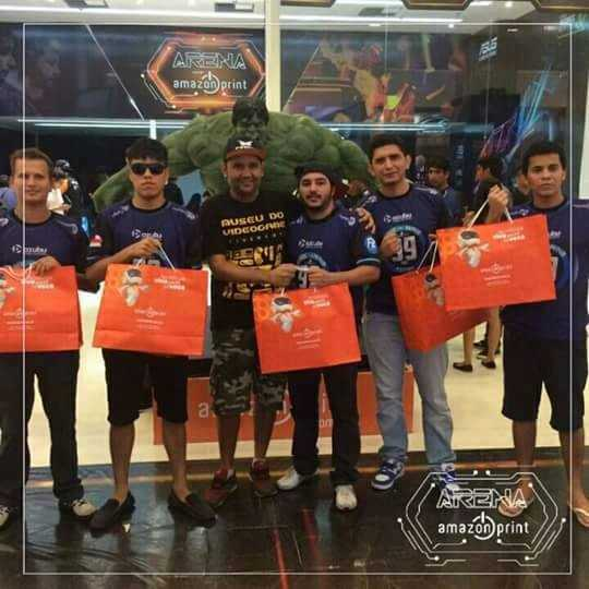 Intensas disputas de players marcaram o campeonato Arena Amazon Print em Manaus