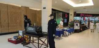 Marinha do Brasil celebra 'Batalha Naval do Riachuelo' com exposição no Shopping Ponta Negra