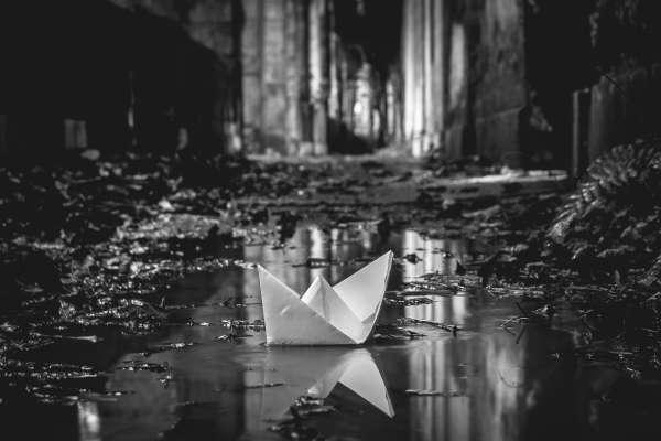 """""""De um barco"""""""