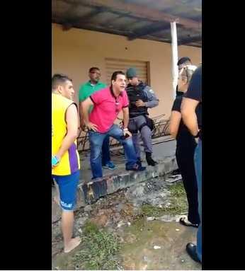 Vídeo: Irmão de senador do Amazonas ameaça pessoas após filho se envolver em acidente