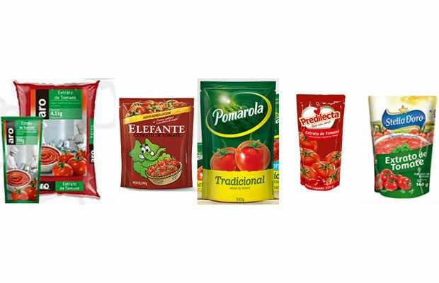 Anvisa proíbe venda de 5 marcas de extrato e molho de tomate