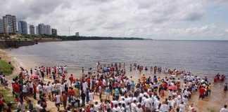 Assembléia Legislativa -AM aprova projeto que torna batismos na Ponta Negra Patrimônio Cultural do Amazonas