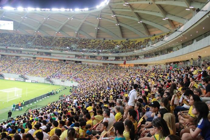 Confirmado Jogo entre Brasil e Colômbia em Manaus