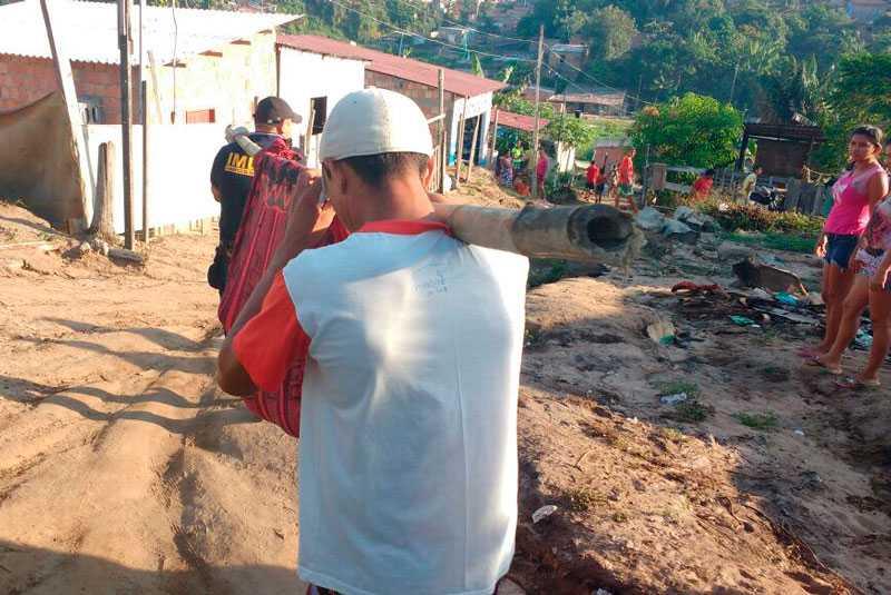A vítima venceu a disputa para líder comunitário do bairro e começou a ser ameaçada / Imagem de divulgação
