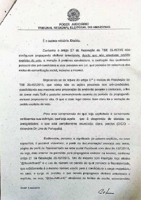 Despacho da juíza foi assinado no dia 26/7