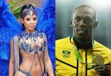 Kasi Bennett, a namorada de Usain Bolt (Foto: Instagram/Reprodução)