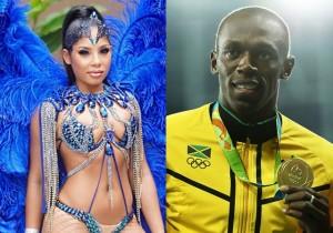 Conheça a namorada traída de Usain Bolt, Kasi Bennett
