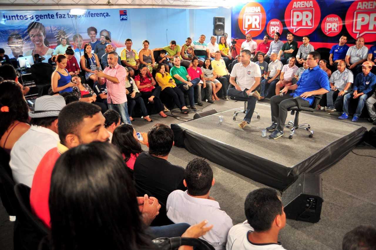 Eleições: Marcelo Ramos e Josué Neto lançam Arena PR para interação com eleitores