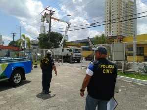Eletrobras flagra ligação clandestina em casa de festas na Ponta Negra